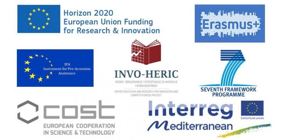 Međunarodni projekti na Univerzitetu Crne Gore