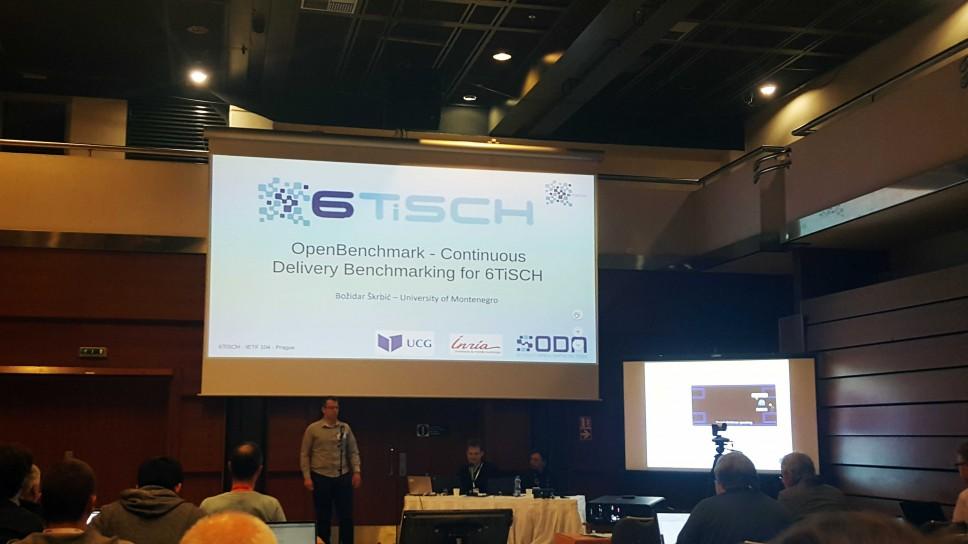 Rezultati SODA projekta predstavljeni na IETF 104 skupu u Pragu