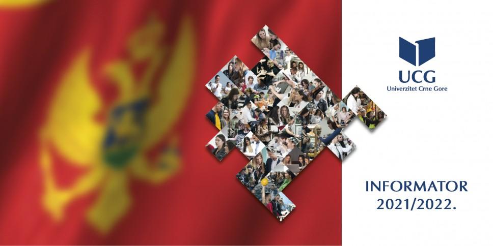 Novo izdanje Informatora Univerziteta Crne Gore namijenjenog maturantima