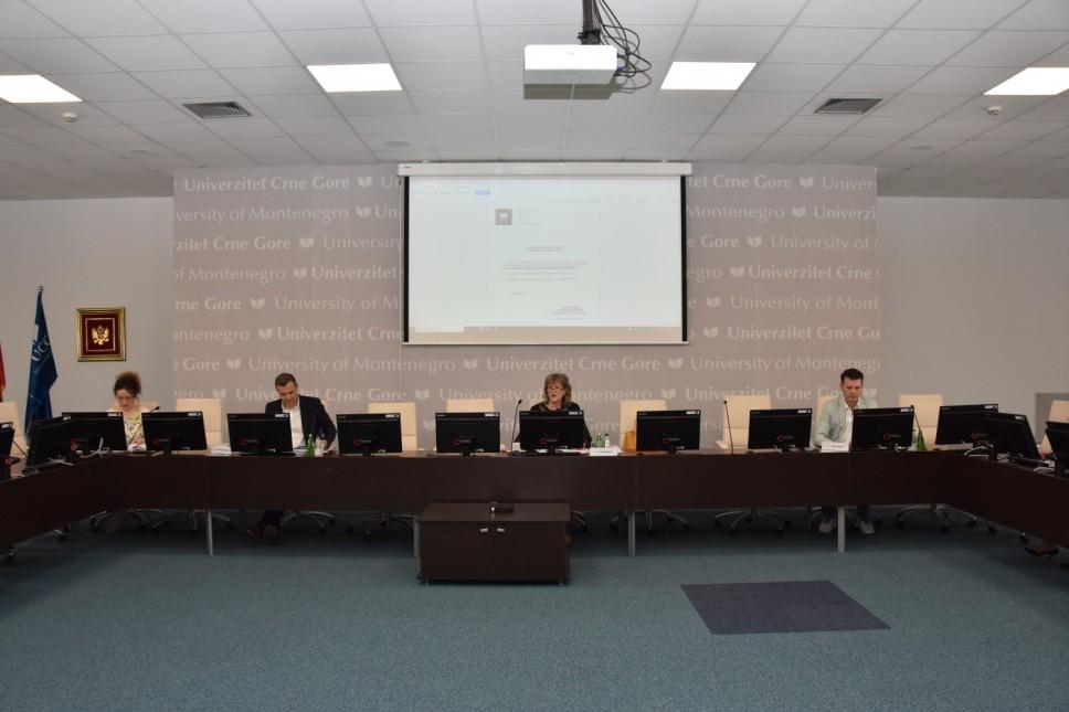 Upravni odbor Univerziteta Crne Gore predložio 3.339 mjesta za upis u I godinu studija