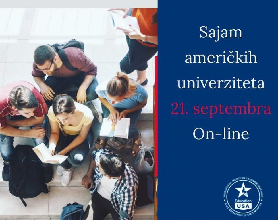 Sajam američkih univerziteta 21. septembra