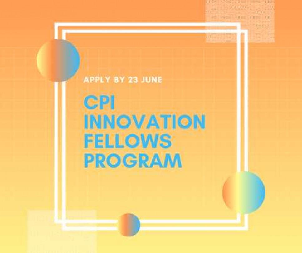 Otvorene su prijave za program CPI Innovation Fellows