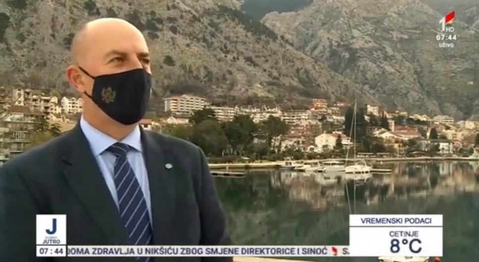 Dr Aleksandar Joksimović o najvažnijim aktivnostima Instituta za biologiju mora za TVCG