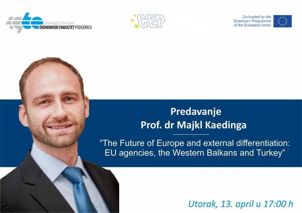 Onlajn predavanje profesora Majkla Kaedinga