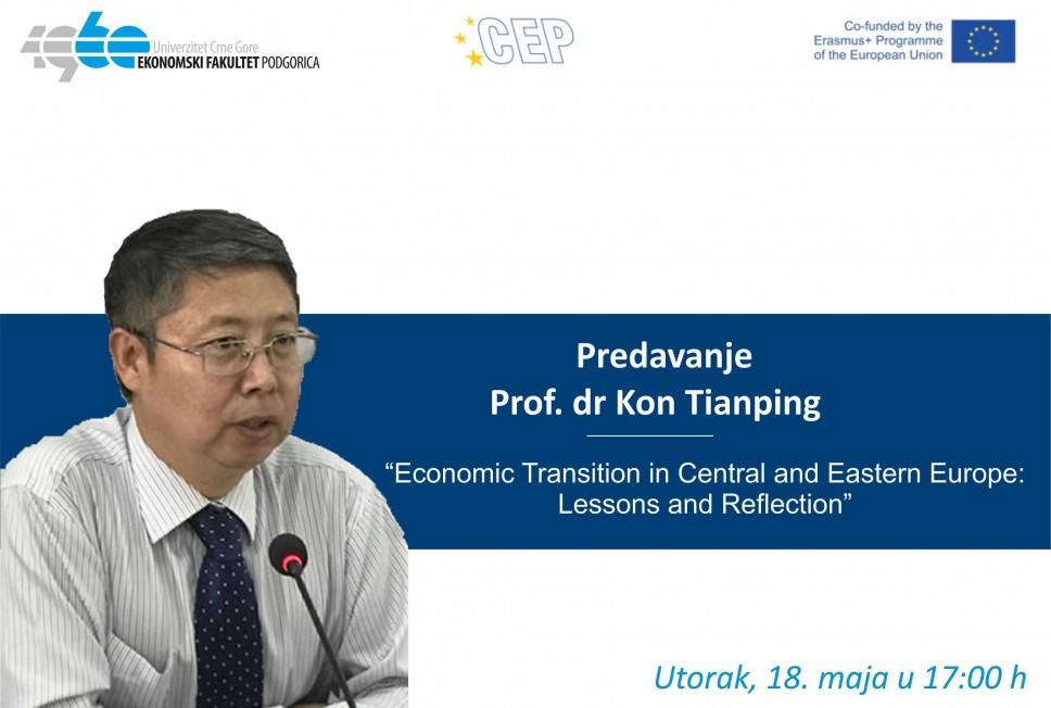 Predavanje profesora King Tianpinga