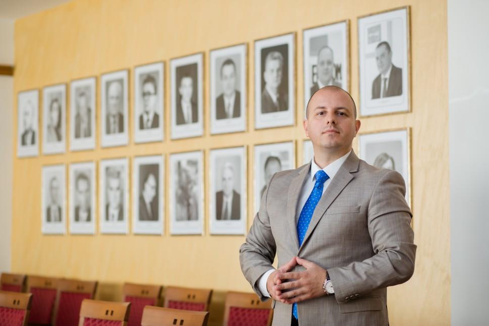 Obraćanje dekana Milovića brucošima generacije 2021/2022. povodom početka nastave