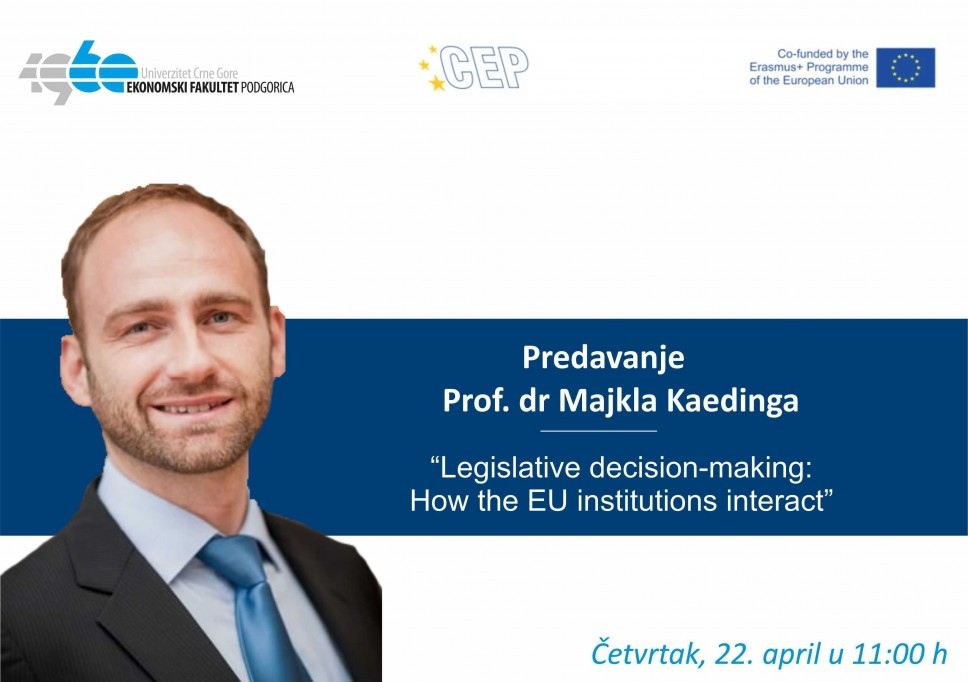 Online predavanje profesora Kaedinga