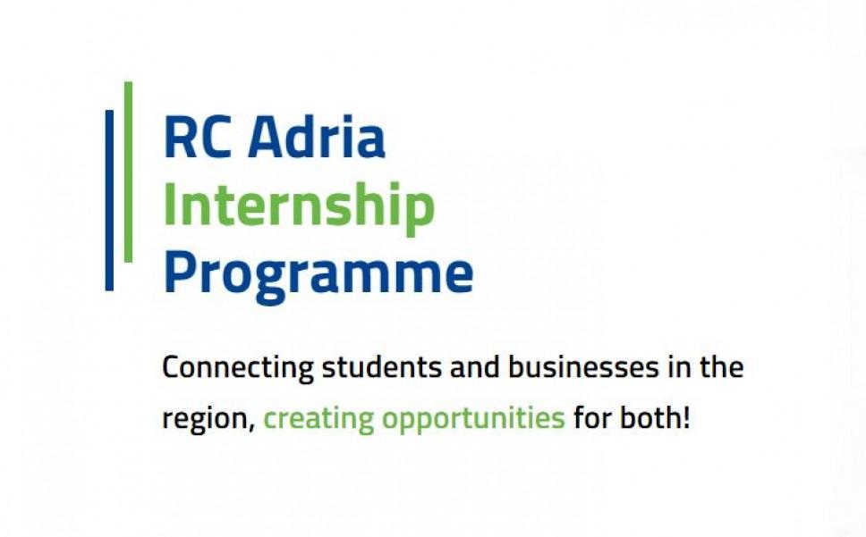 Konkurs programa stručne prakse - RC Adria Internship program