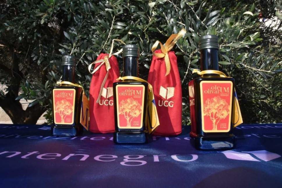 Proizvedena prva serija brendiranog maslinovog ulja UCG-a Oleum Olivarum