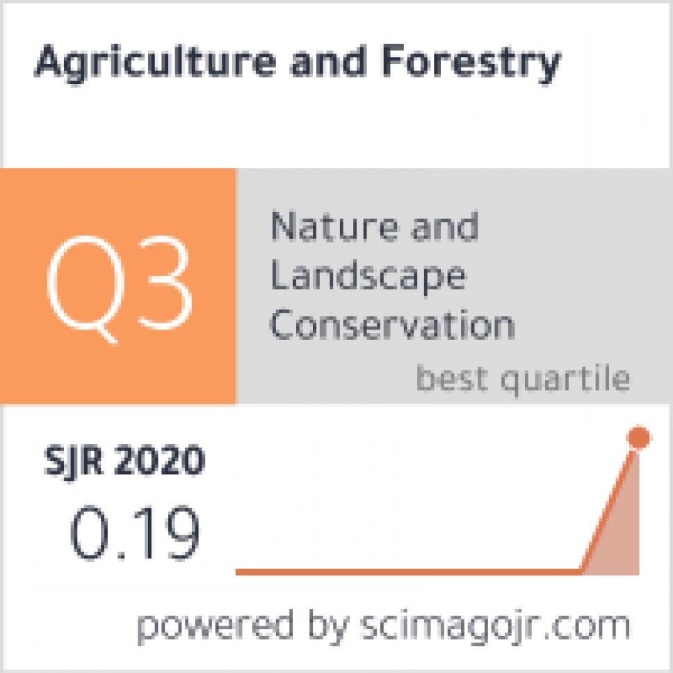 """Časopis """"Agriculture and Forestry"""" klasifikovan u Q3 kategoriju"""