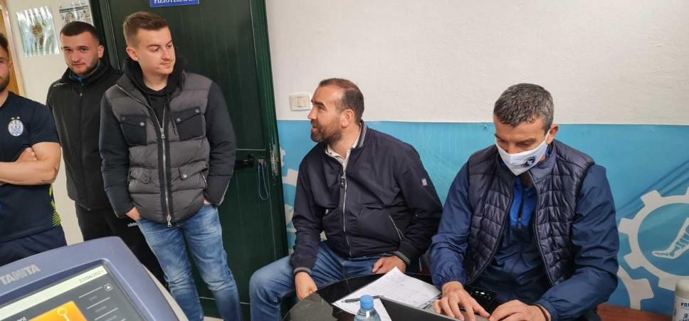 Testirani fudbaleri najtrofejnijeg kluba u Albaniji