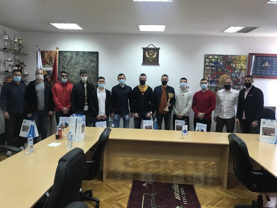 Na Fakultetu za sport i fizičko vaspitanje: Svečani prijem za šampione u futsalu u Studentskoj ligi Crne Gore