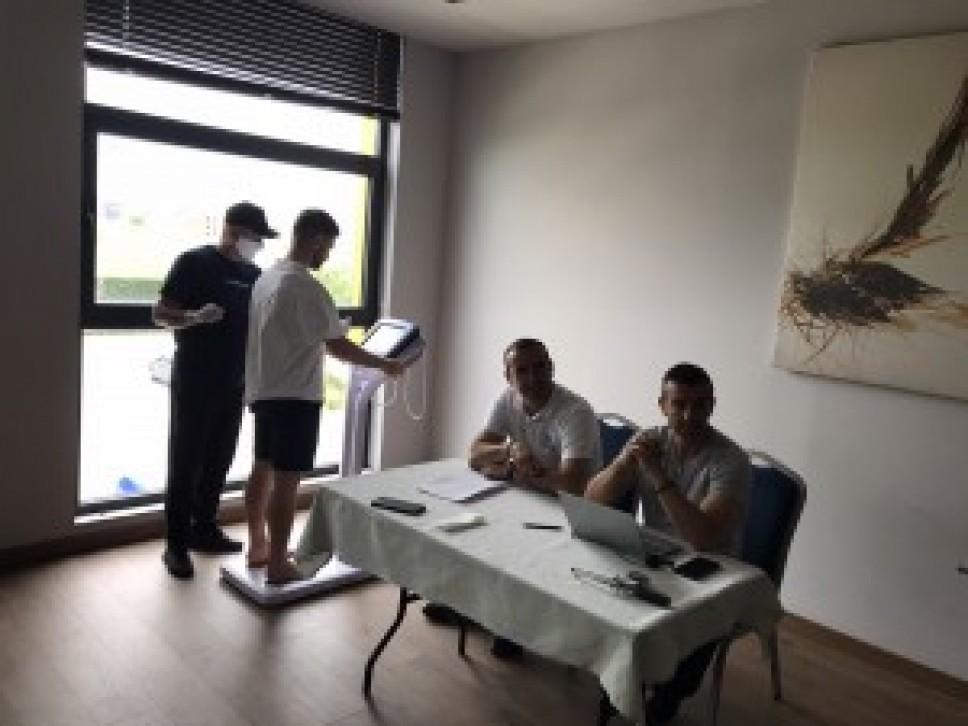 Testirana seniorska fudbalska reprezentacija Kosova