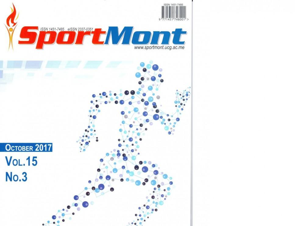 Časopis SportMont u prestižnoj naučnoj bazi Scopus