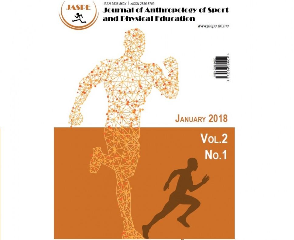 "Izašao novi broj naučnog časopisa ""Journal of Anthropology of Sport and Physical Education"""