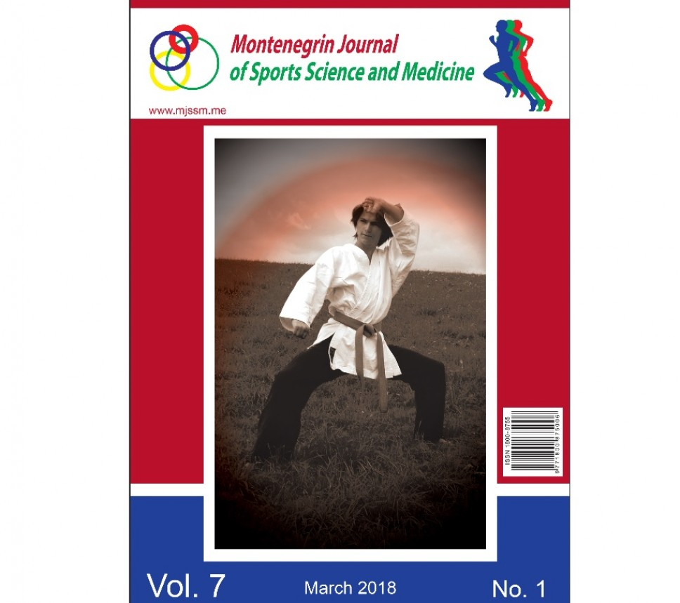 "U martu novi broj naučnog časopisa ""Montenegrin Journal of sports science and medicine"""
