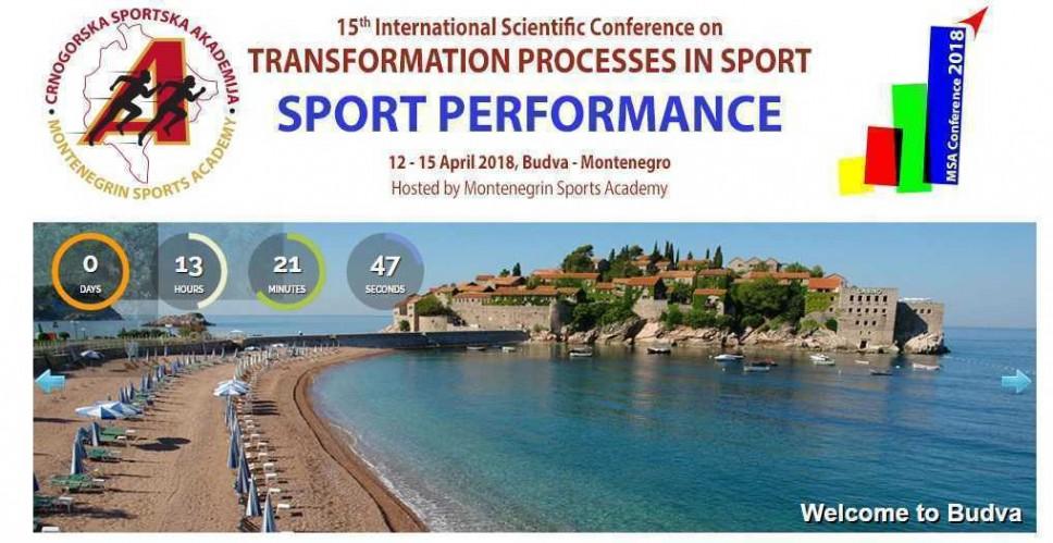 Zvanično otvaranje XV Međunarodne naučne konferencije u domenu sportske nauke 13. aprila