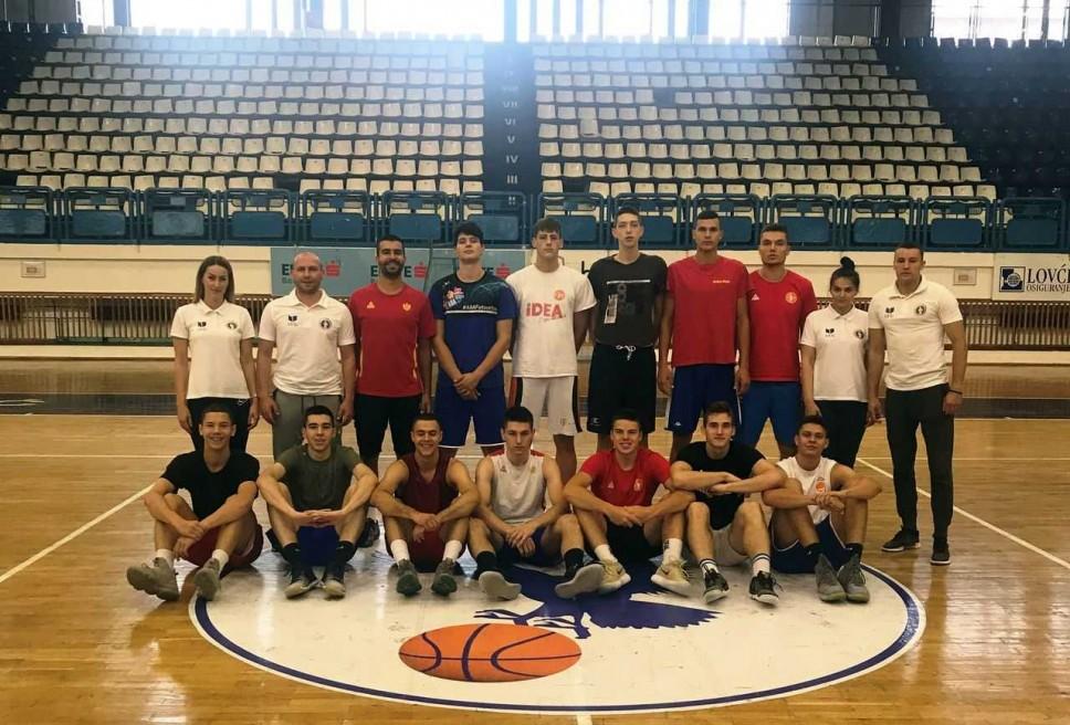 Antropometrijsko mjerenje juniorske košarkaške reprezentacije Crne Gore