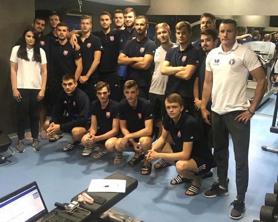 Antropometrijsko mjerenje muške juniorske rukometne reprezentacije Slovačke