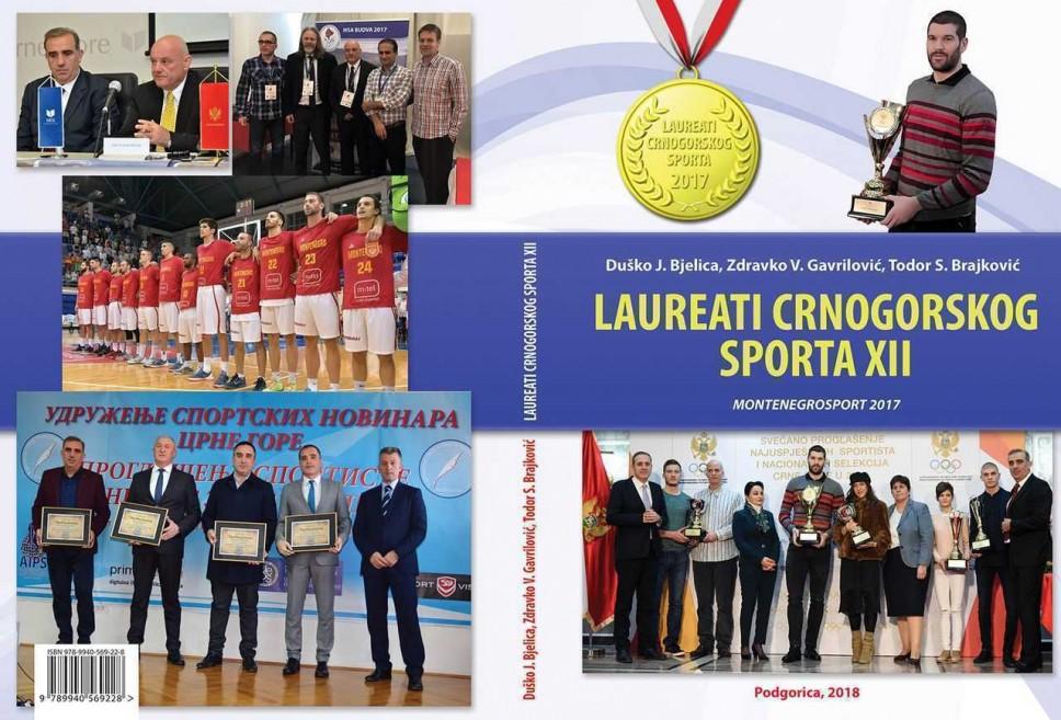 """Nova knjiga iz edicije """"Laureati crnogorskog sporta"""""""