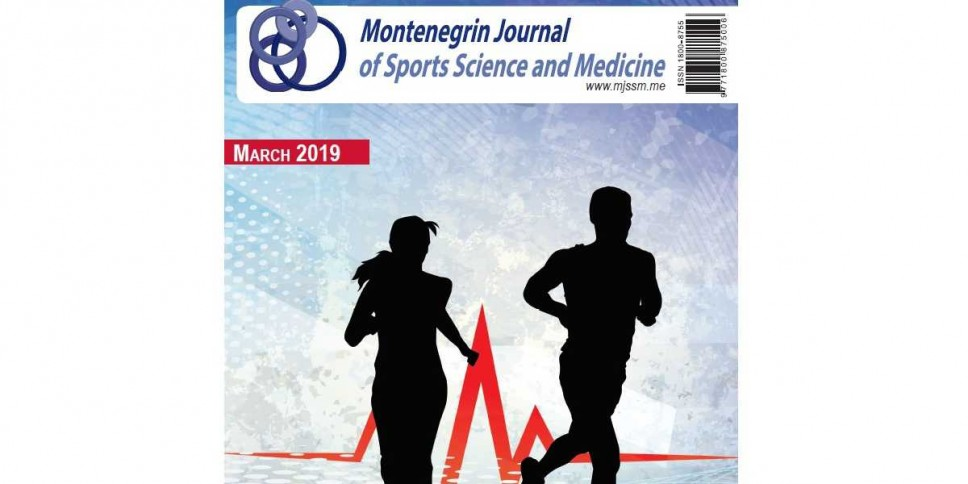 "U martu novi broj - ""Montenegrin Journal of Sports Science and Medicine"""