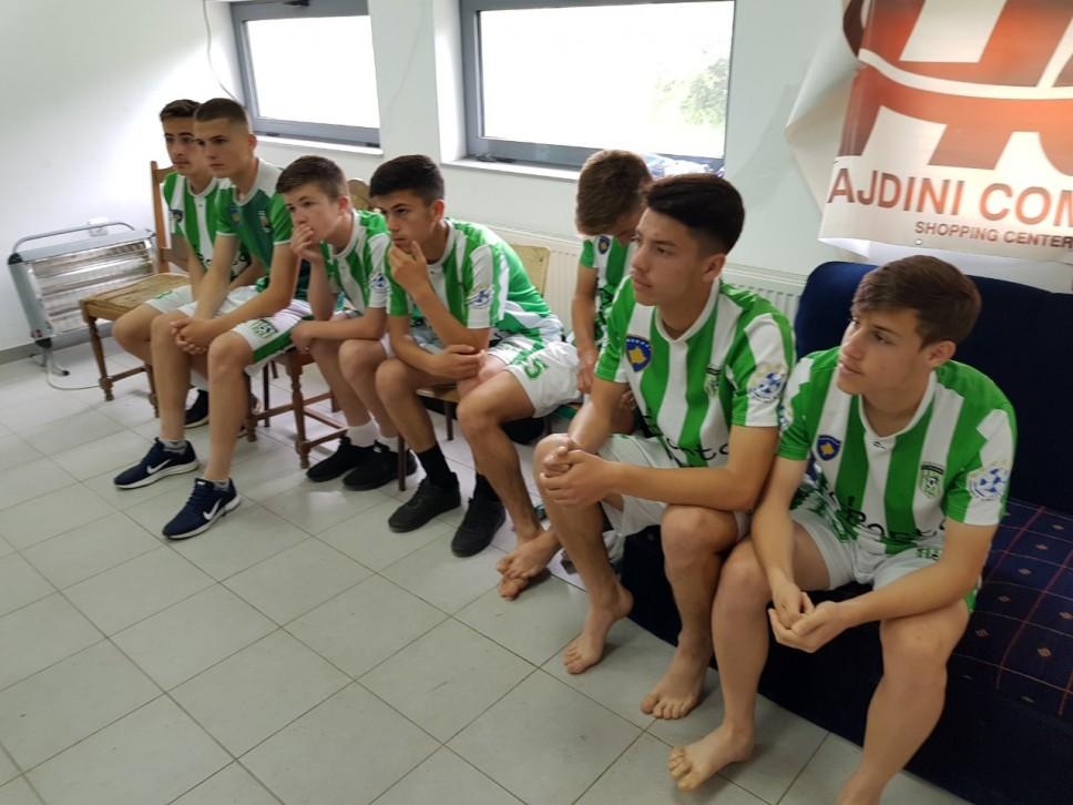 Nikšićani testirali juniore i kadete trostrukog prvaka Kosova