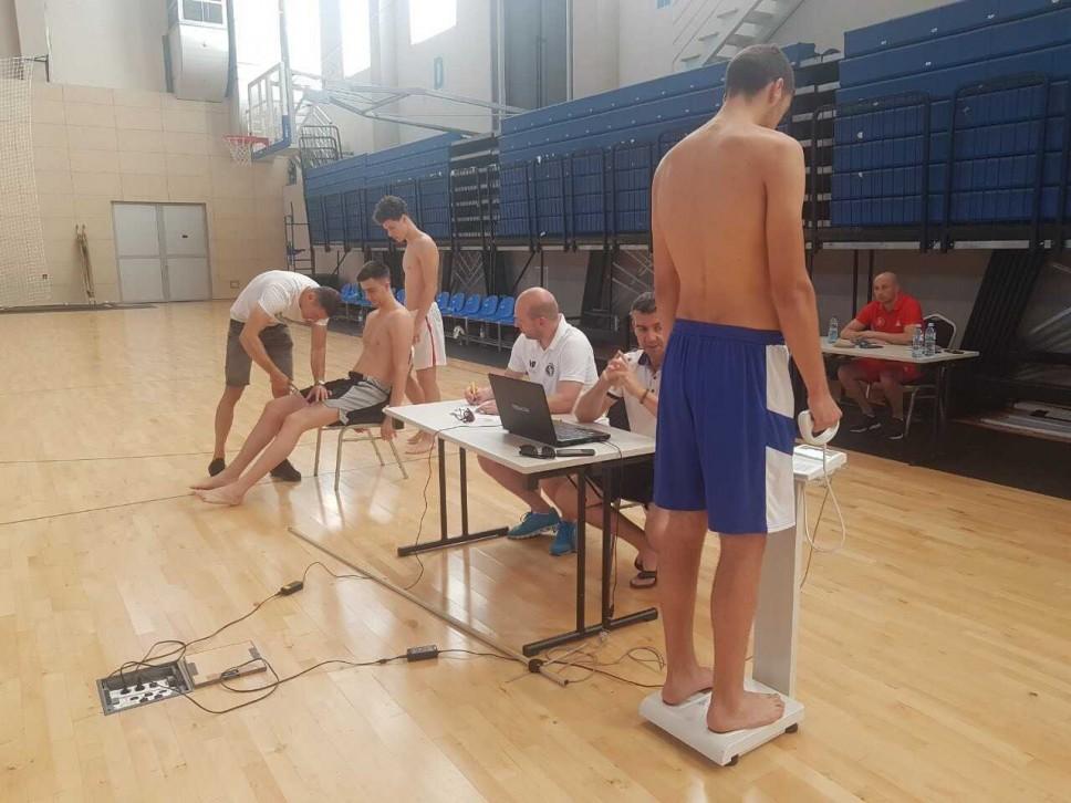 Testirane muške košarkaške selekcije - juniorska i kadetska reprezentacija Crne Gore