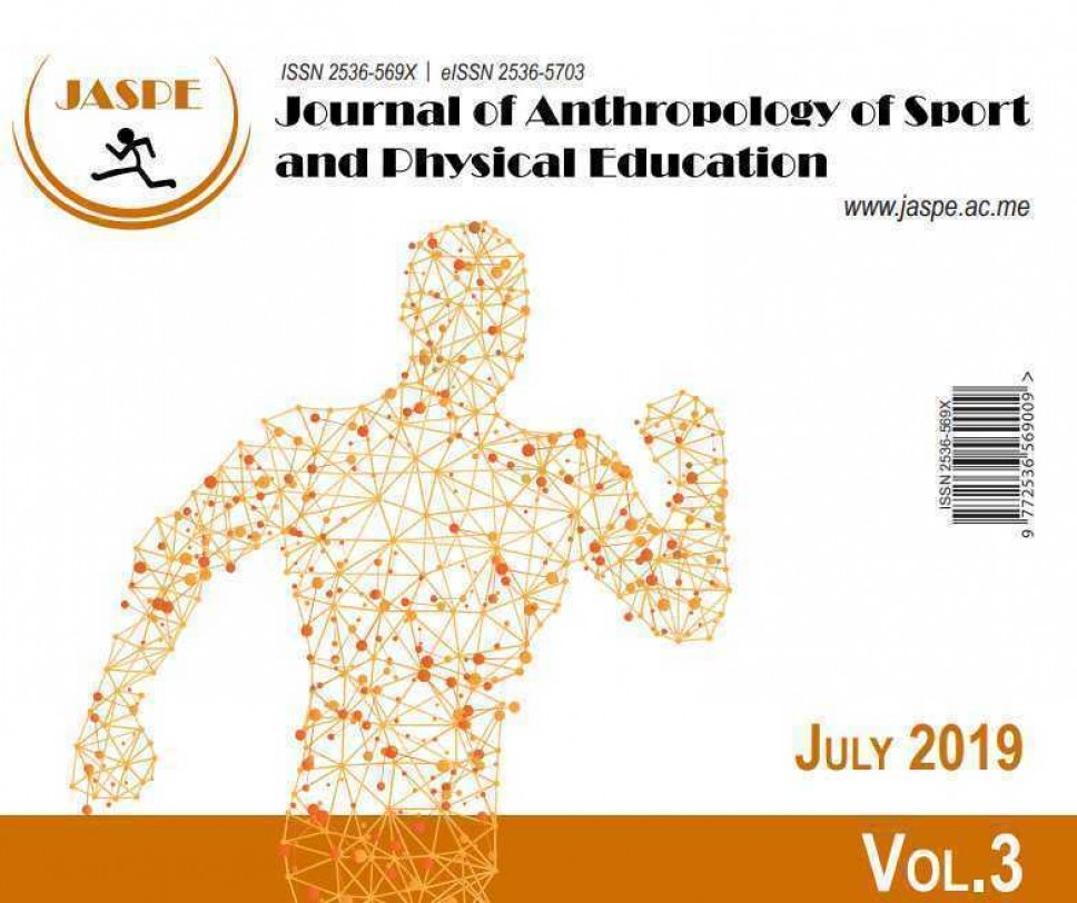 Objavljeno julsko izdanje naučnog časopisa JASPE - 2019.