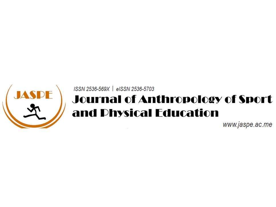 Sva izdanja časopisa Journal of Anthropology of Sport and Physical Education