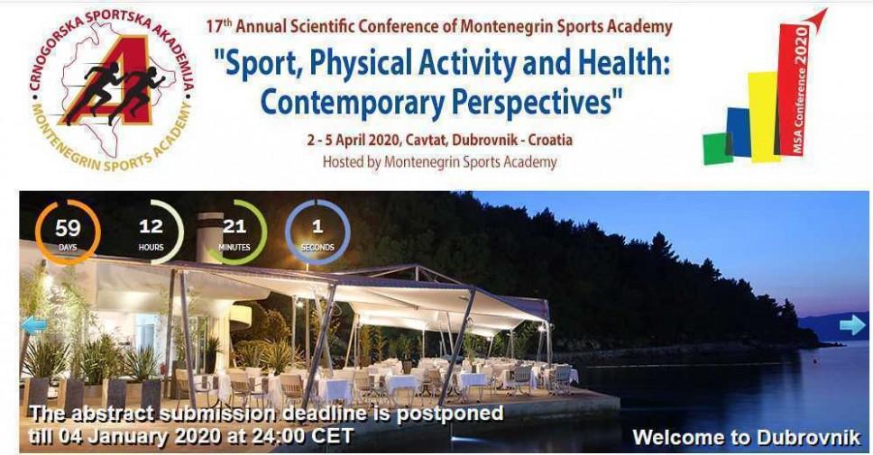 CSA konferencija 2020: Zbog velikog interesovanja pomjeren rok za predaju radova
