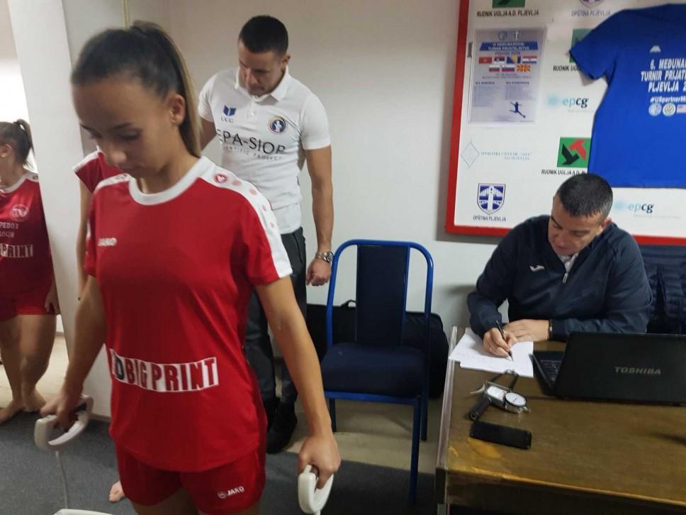 Testirane igračice ženskih fudbalskih klubova iz Sjeverne Makedonije