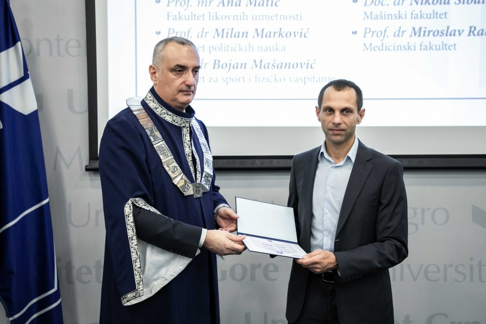 Doc. dr Bojan Mašanović: Znanje je najveća nagrada