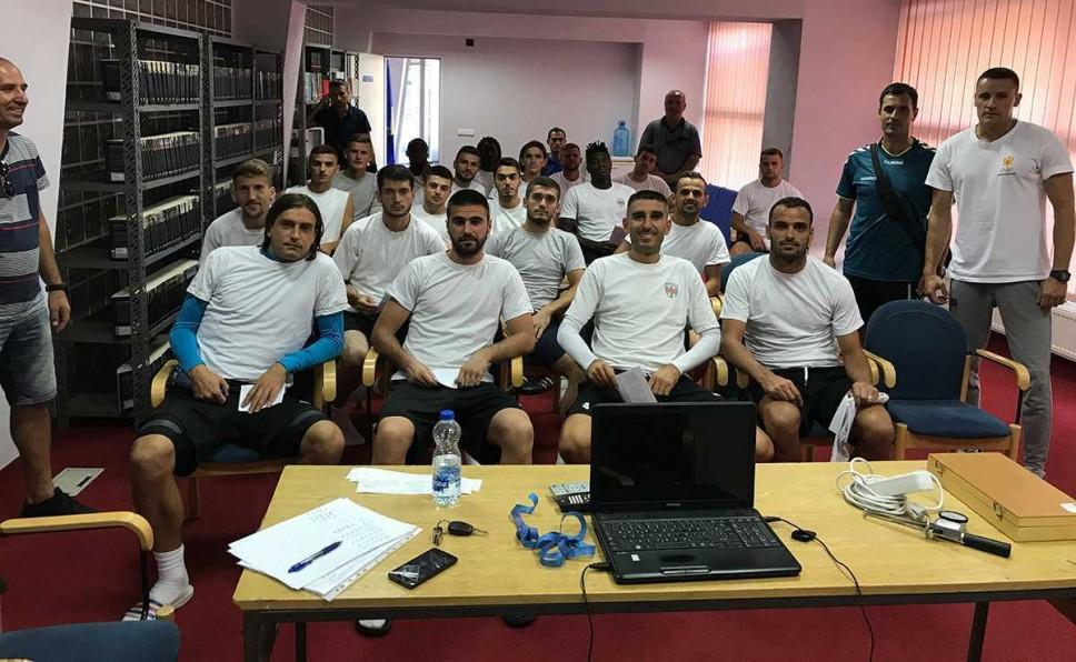 Antropometrijsko mjerenje fudbalskih klubova superlige Kosova