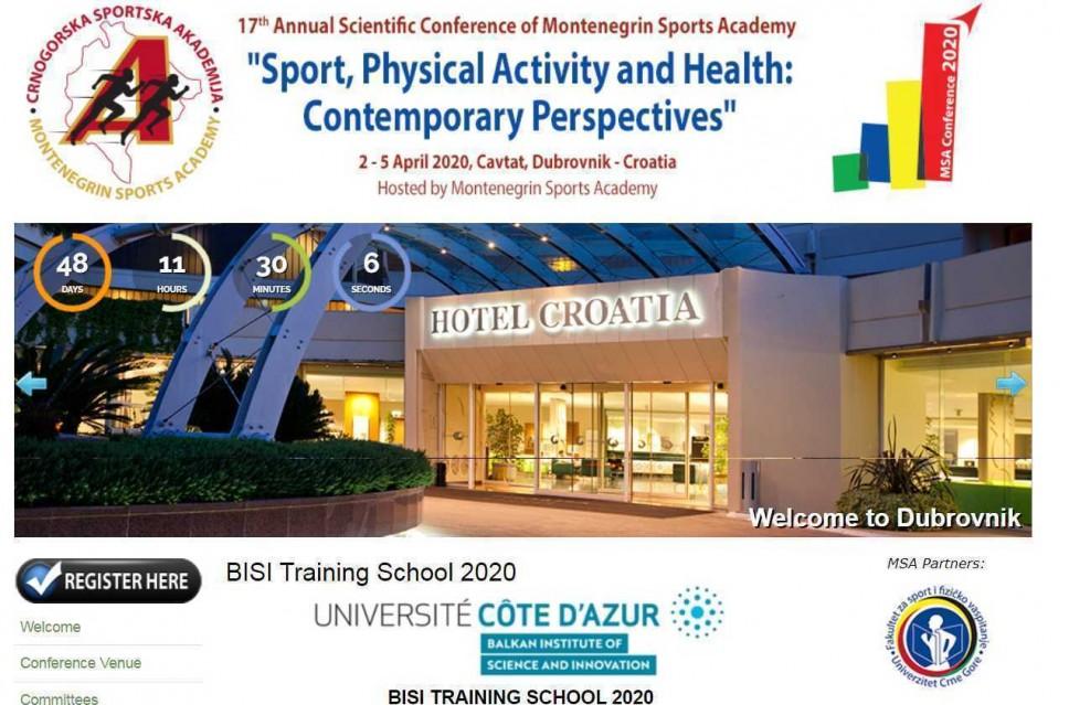CSA konferencija: Poziv studentima da se prijave za BISI školu obuke na temu pripreme, pisanja i objave naučnog rada