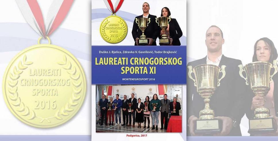 Jedanaesta knjiga iz edicije Laureati crnogorskog sporta