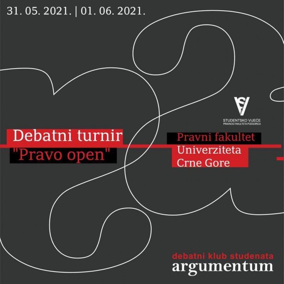 Debatni turnir za studente i srednjoškolce: Pravo open