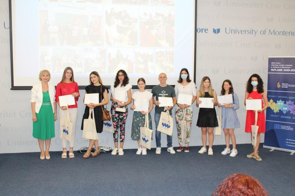Studentima Elektrotehničkog fakulteta dodijeljeni sertifikati u okviru Ljetnje škole Erasmus+ projekta ReFLAME