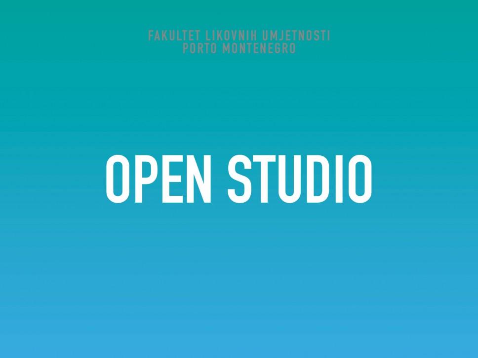 """Poziv za studente master i završne godine bečelor studija za """"Otvoreni studio"""""""