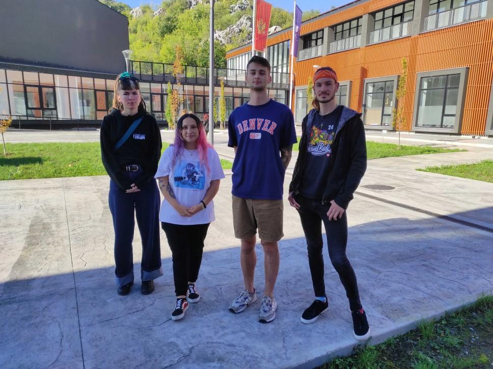 Gostujući Erasmus + studenti na Fakultetu likovnih umjetnosti
