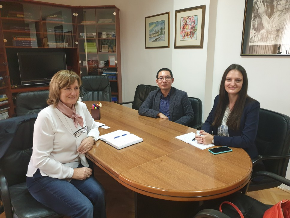 Razmatrana saradnja kompanije CRBC Montenegro Branch i Građevinskog fakulteta