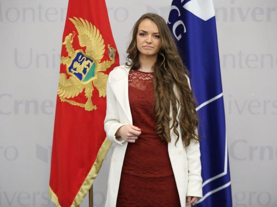 Sanja Maslar, najbolja studentkinja Građevinskog fakulteta za studijsku 2020/21. godinu