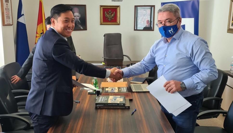 Memorandum o saradnji Mašinskog fakulteta UCG i kineske kompanije u oblasti obnovljivih izvora energije