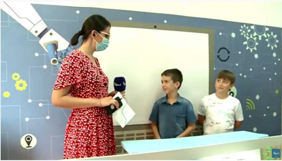 """Robotičari OŠ """"Štampar Makarije"""" o iskustvu na takmičenju za TV Vijesti"""