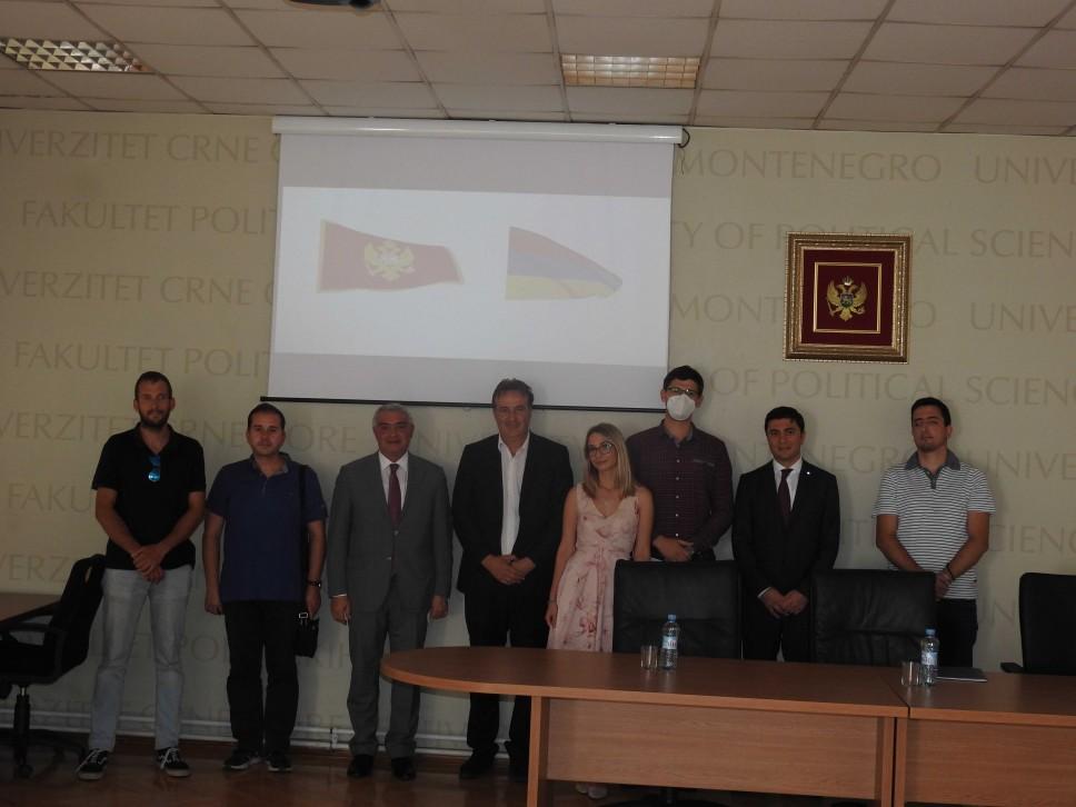 Posjeta ambasadora i konzula Republike Jermenije Fakultetu političkih nauka