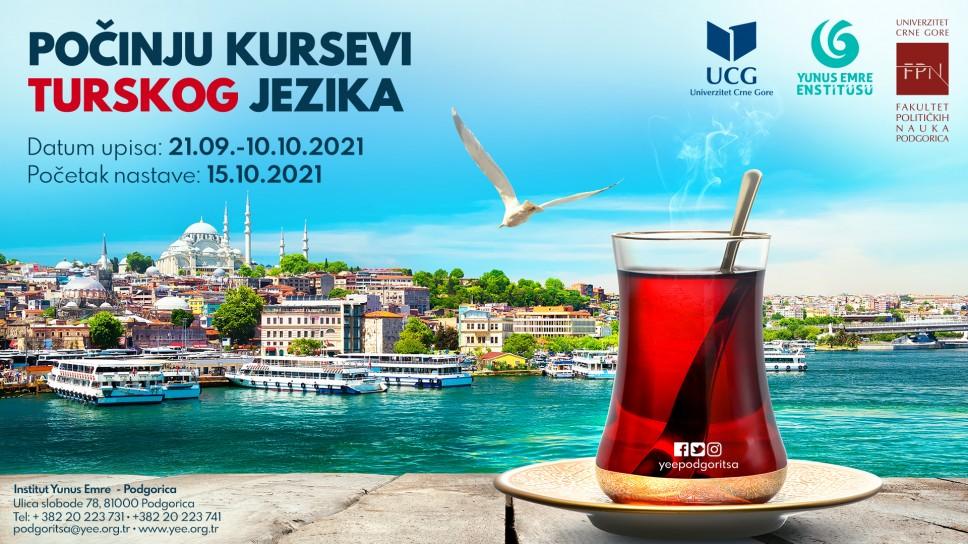 Kursevi turskog jezika na Fakultetu političkih nauka
