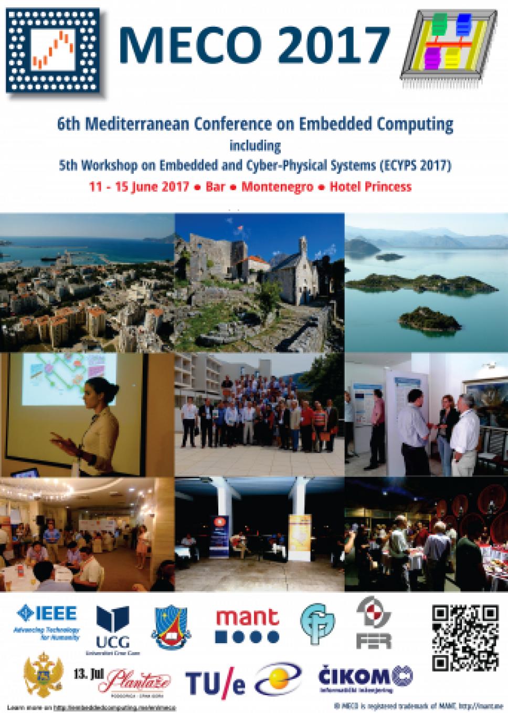 Konferencija MECO nagrađuje jednog studenta mehatronike!