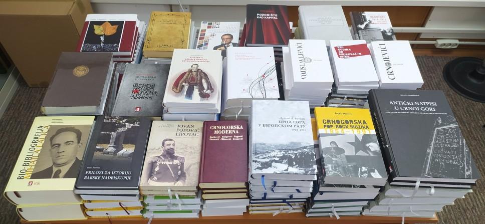 Matica crnogorska poklonila 148 publikacija Centralnoj univerzitetskoj biblioteci