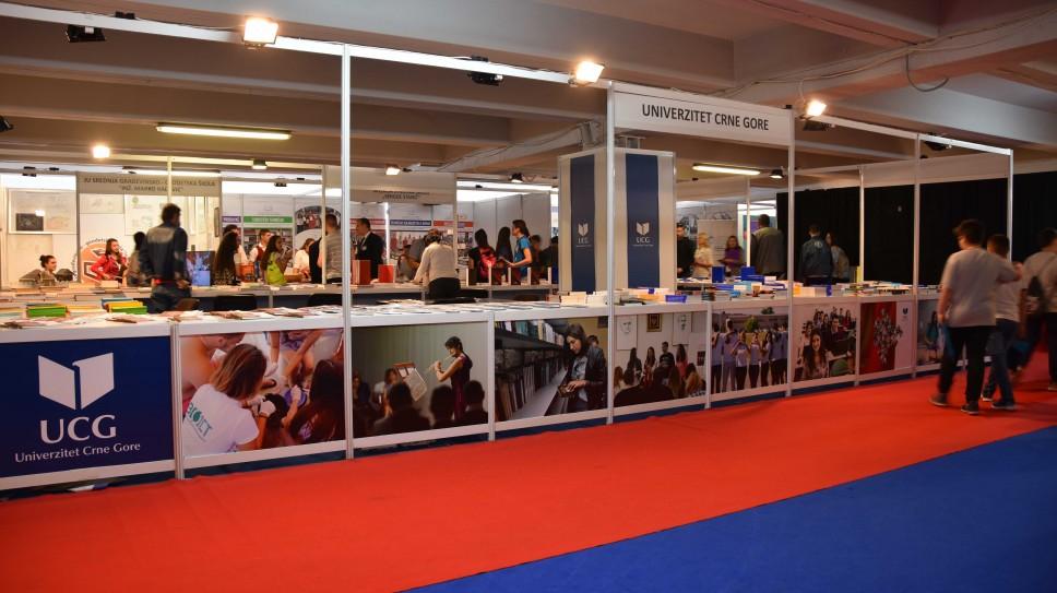 Univerzitet Crne Gore učestvuje na Međunarodnom podgoričkom sajmu knjiga i obrazovanja