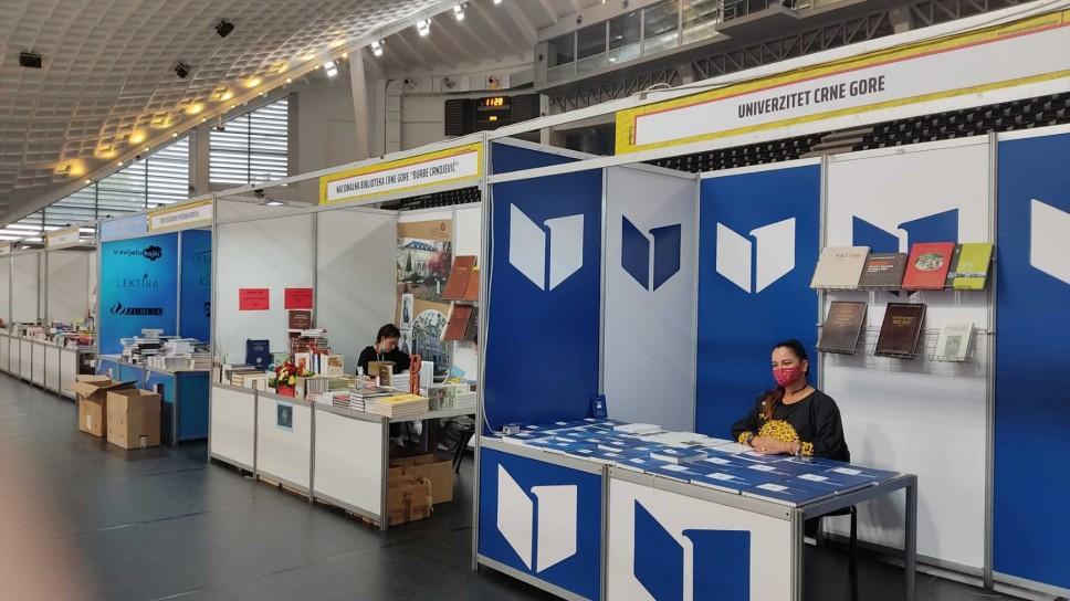 Univerzitet Crne Gore na VII internacionalnom sajmu knjiga Podgorica