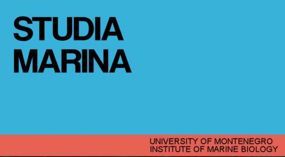 Studia Marina Vol. 15-16 No. 1 (1984.)